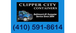 Dumpster Rental Baltimore MD - Clipper City Containers